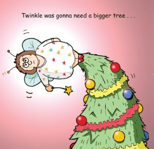TW308 – Gonna Need a Bigger Tree Merry Christmas Card